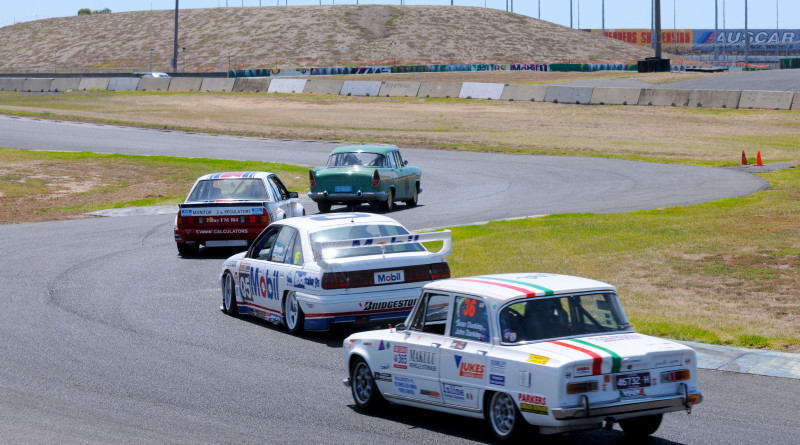 50 years of touring cars having fun. Phil Wisewould photo