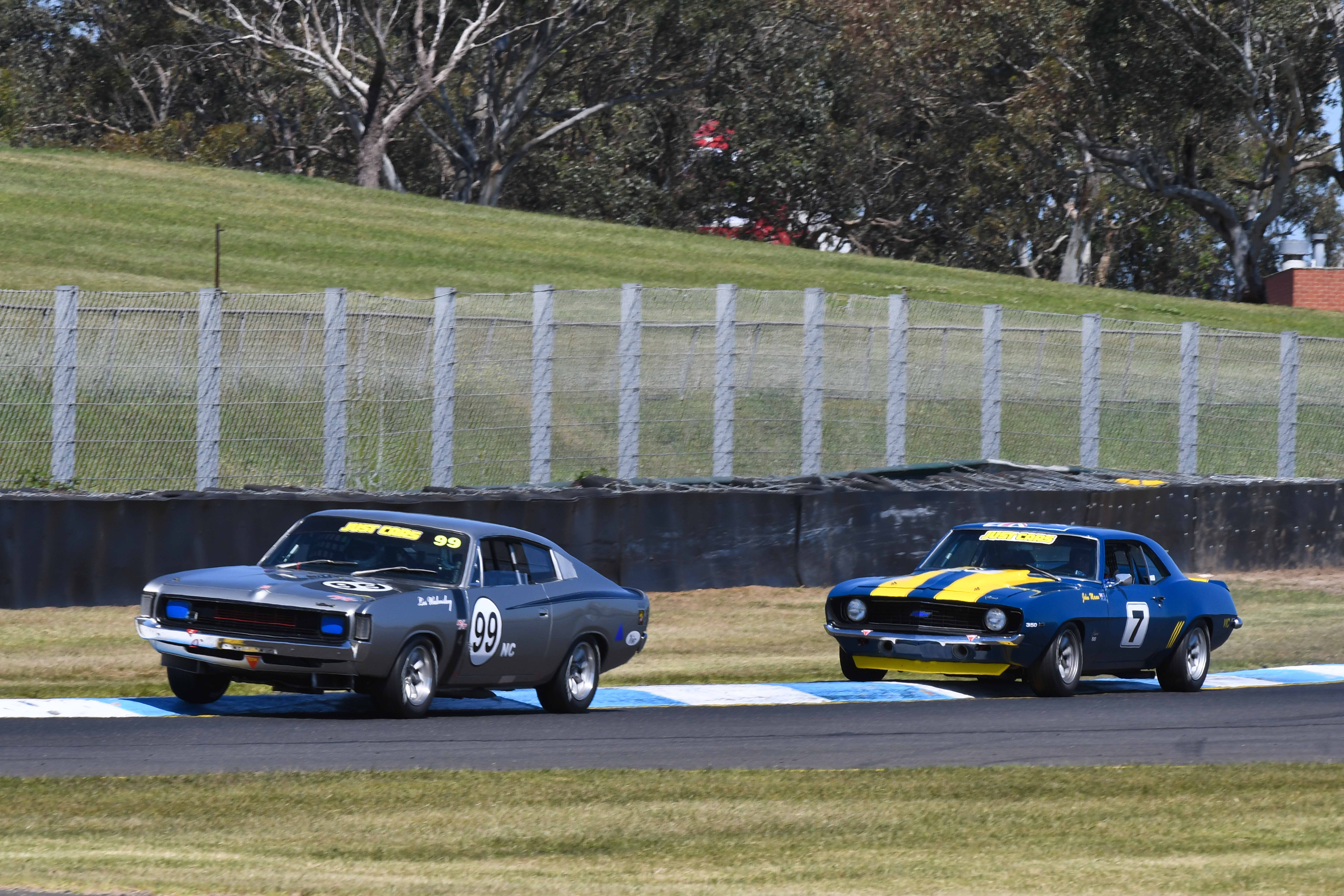 Sunny Days Sensational Racing Historic Touring Cars