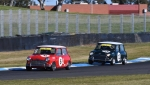 Adrian Read and Richard Hill were the class of the Mini field
