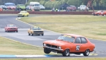 Young gun Elliott Barbour on fire in the immacluate Torana