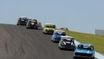 A swarm of Minis buzz Geoff Davis, Mazda