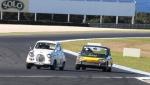 Battle of Britain - Rhea Sutter, Austin A30 vs Ian Cuss, Triumph 2000 JPG