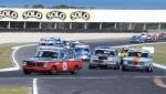 Gabriel Digenis and Chris Ralph\'s BMWs hold out Tassie\'s Phil Shepherd\'s rapid EH JPG