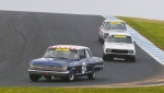 Rod Evans leads James McNiven and Rob van Stokrom
