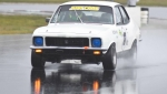 Peter McNiven slipped through the slosh to take the JUST CARS Cup