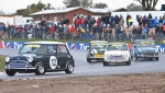 It's the one meeting of the year where MInis terrorise bigger cars