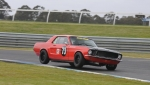 Andrew Whiteside is a consistently strong performer in the 68 Mustang