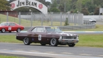 NSW\'s Ross Muller lines his Chevvy Nova up on the grid